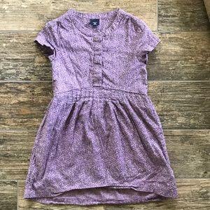 GAP Lavender Short Sleeve Dress Size XS